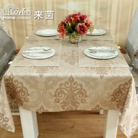 Luxury fashion faux leather flower large dining table ...