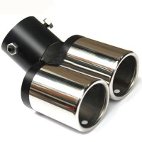 New Car Exhaust Pipes Twin Tail Pipes Auto Exhaust Pipe ...