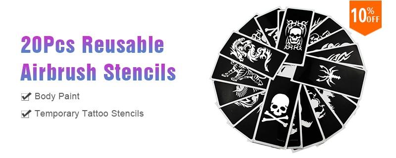 ᗚOPHIR 20 Fogli adesivi di Natale Modelli Hennè Airbrush Stencil ... 7228e268cfa