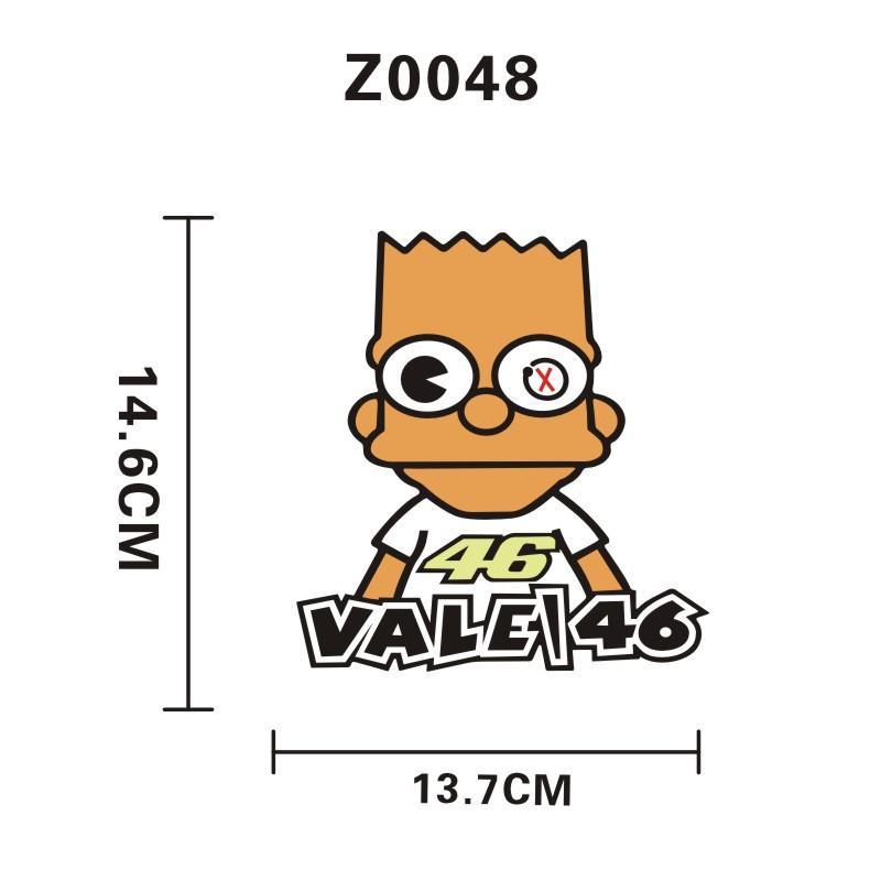 Popular Simpsons Stickers