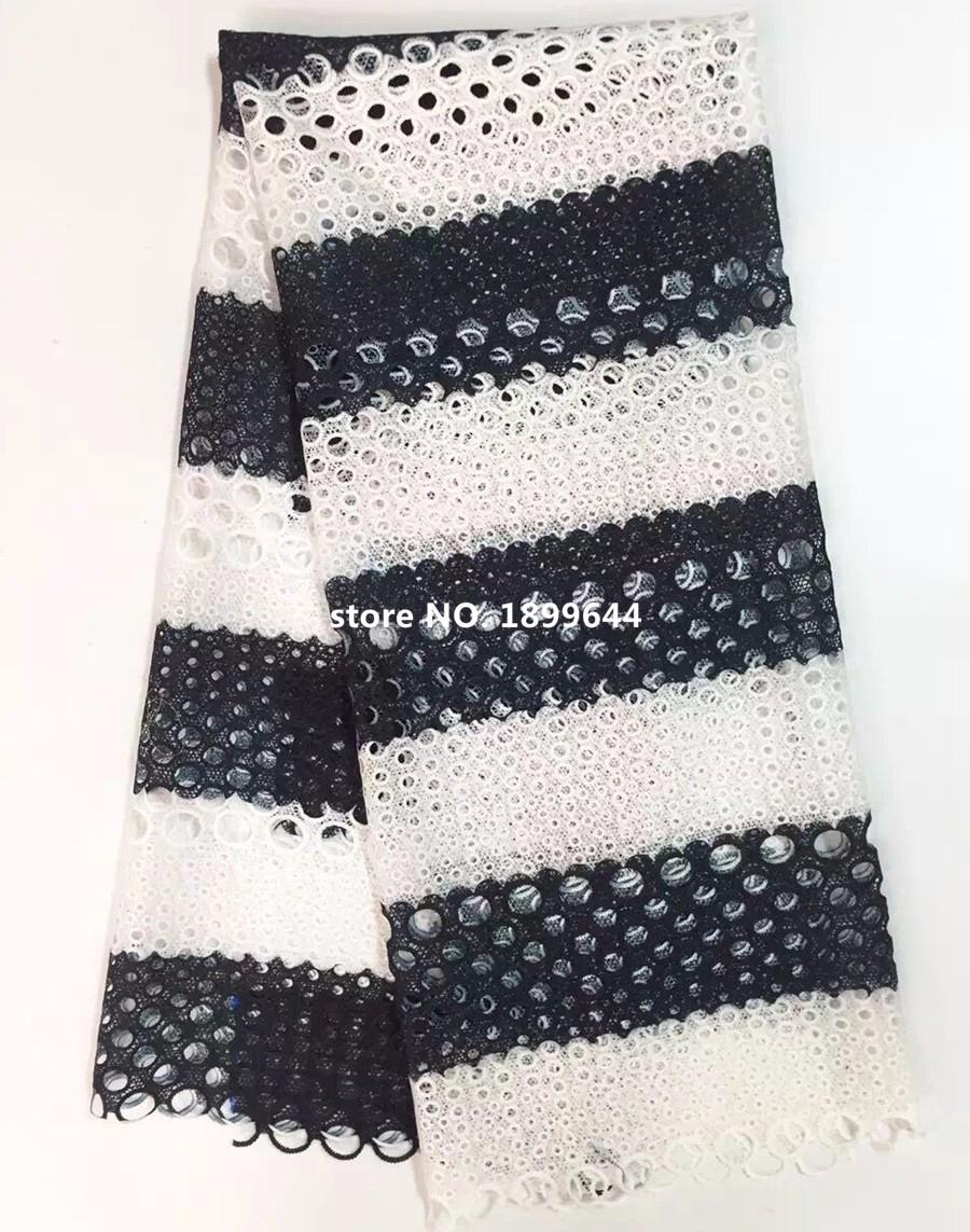 ≧Envío libre de DHL! Nueva tela africana del cordón del guipure ...