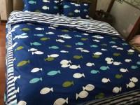 Aliexpress.com : Buy 3D Cute Fish bedding set quilt duvet ...
