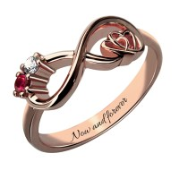 Birthstone Couple Rings Promotion-Shop for Promotional ...