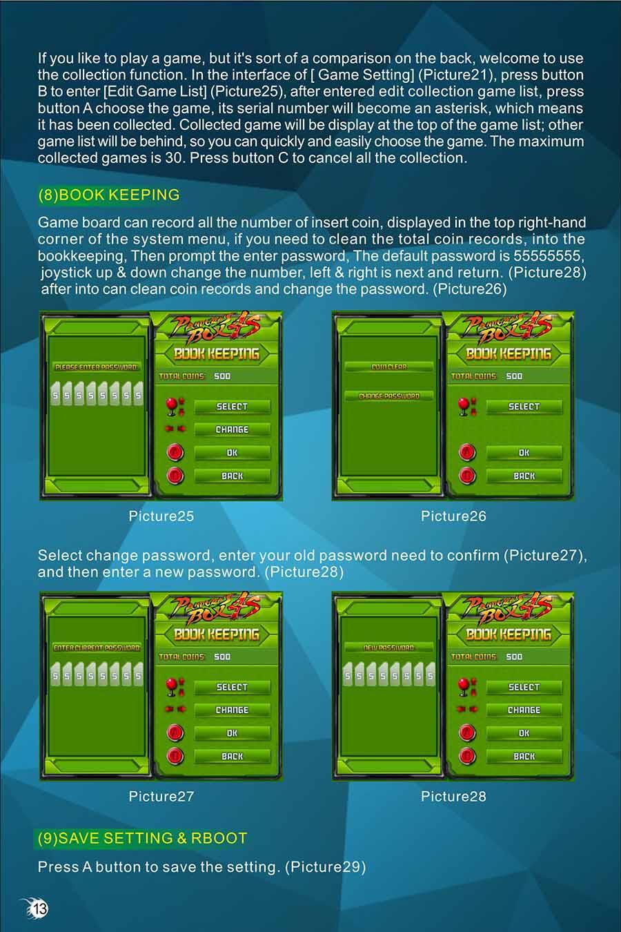 Boto de arcade joystick controlador de jogo caixa de pandora 1 14 fandeluxe Image collections