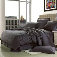 Brief Home Textile 100% cotton Sanding dark grey Solid ...