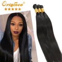 Peruvian Braiding Hair Bulk Hair Extensions for Braiding 3