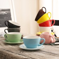 Popular Latte Cups and Saucers-Buy Cheap Latte Cups and ...