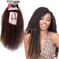 AFRO twist braid hair synthetic braiding hair extension ...
