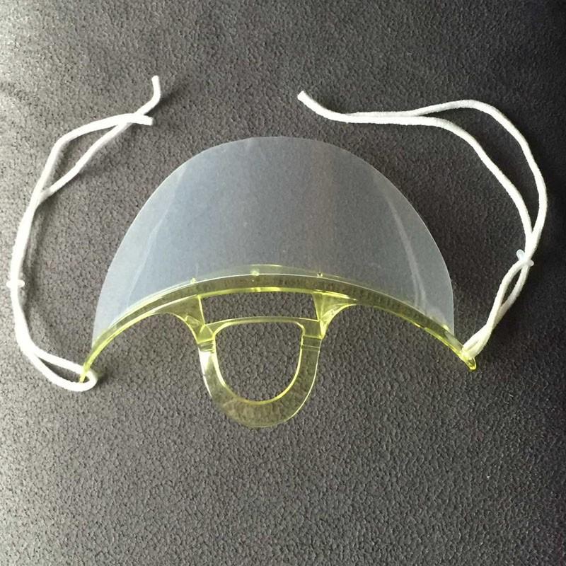 1  masques anti-poussière mignon masques chirurgicaux Vert transparent  masques double-face anti-brouillard à la mode masques chirurgicaux 903a07b0d285