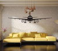 4028 3D Airplane Wall Stickers Muraux Wall Decor Airplane ...
