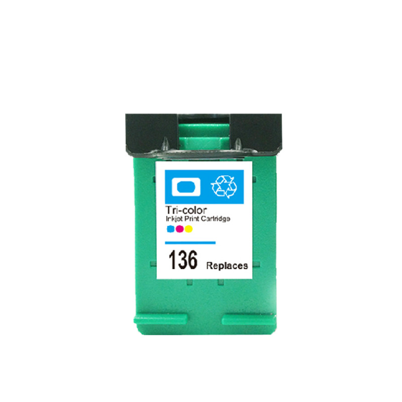 ⊰vilaxh 136 Compatible Ink Cartridge Replacement For HP 136 ... 2f6c4e8f0486