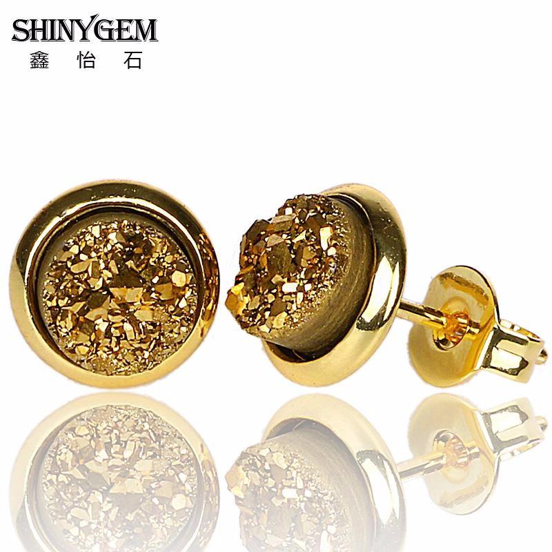 Fashion Europe Femmes éblouissant bi-couleur TOURMALINE GEMS Silver Dangle Earrings