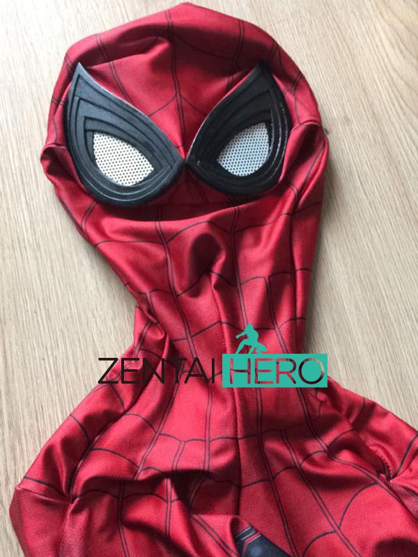 sur le Pointnom  Guerre Civile Spiderman Costume 3D Ombre Spandex 2017  Halloween Cosplay Spider-man Super-Héros Costumetaille  Petit, moyen, grand,  X-Grand, ... fbc3fc31d8b