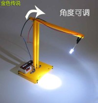 DIY-desk-lamp-small-led-lamp-technology-manual-light ...