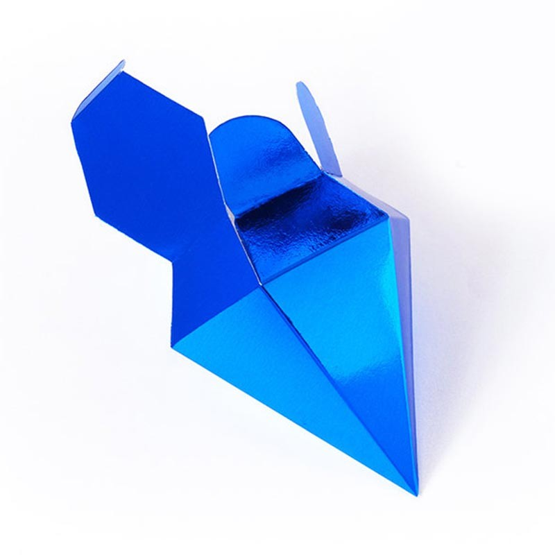 8 Color Royal Blue Wedding Decoration Box For Guest Diamond Red