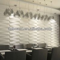 Best selling tridimensional styrofoam wall panel