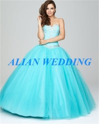 High Fashion Baby Blue Quinceanera Dresses 2015 Sweetheart ...