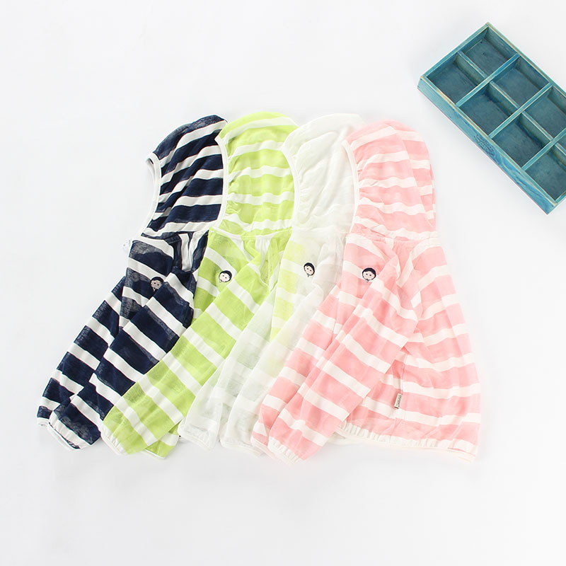 f21aa5aadc35 ①Boys and girls sunscreen clothing children s ultra-thin summer ...