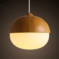 Nordic Cord Pendant Lamp Modern Nut Shape Simple Pendant ...