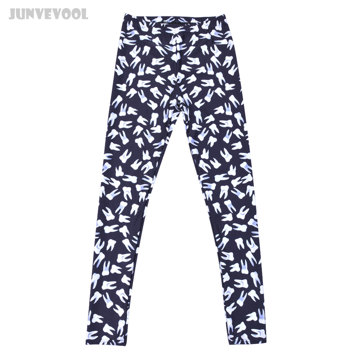 03f495003267 ▽Fitness Woman Leggings Tooth Printed Trousers Women High Waist ...
