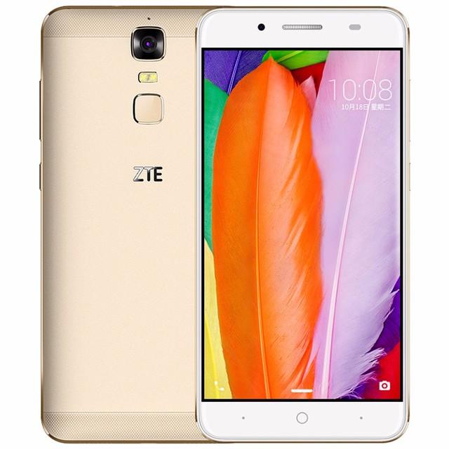 "Original ZTE Blade A2 Plus 5.5"" FHD 1920x1080 Octa Core 5000mAh Reverse Charge 3G RAM 32G ROM Android 6.0 Metal Body FingerPrint"