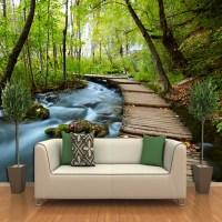 3d three dimensional wallpaper landscape wallpaper murals ...