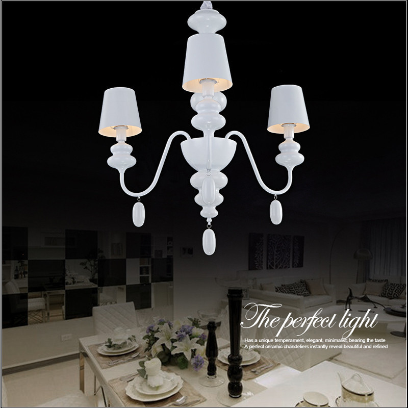 Modern white gourd chandelier lighting dining room restaurant incandescent bulbled bulbenergy saving bulb packing 1 x chandelier delivery free shipping via china post air 7 25 days against buyer country aloadofball Image collections
