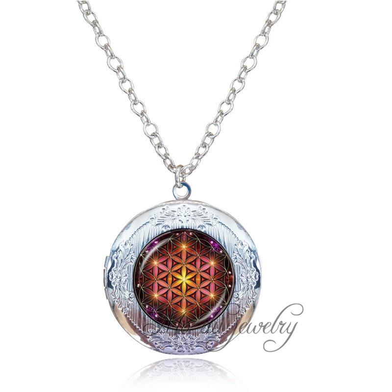 4pcs émail métal MIX CHRISTMAS médaillon Multi-style perle cage Collier Pendentif