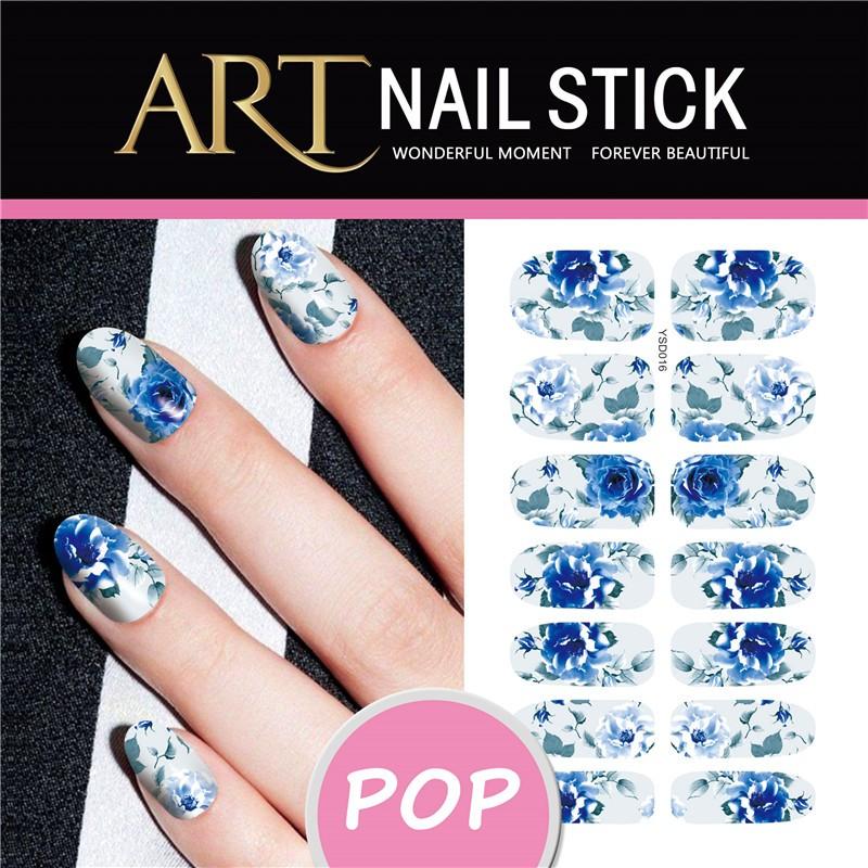 Xmax Nails Sticker Christmas Snowflake Nail Art Sticker Flash