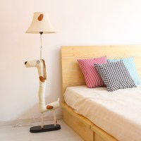 Cottage brief modern cartoon floor lamp bedroom lamp