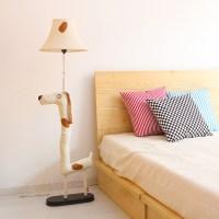 Cottage brief modern cartoon floor lamp bedroom lamp