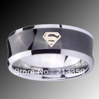 The gallery for --> Superman Wedding Ring Set