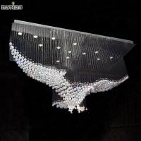 New Eagles Design Luxury Modern Crystal Chandelier ...