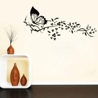 Black Butterfly Wall Art