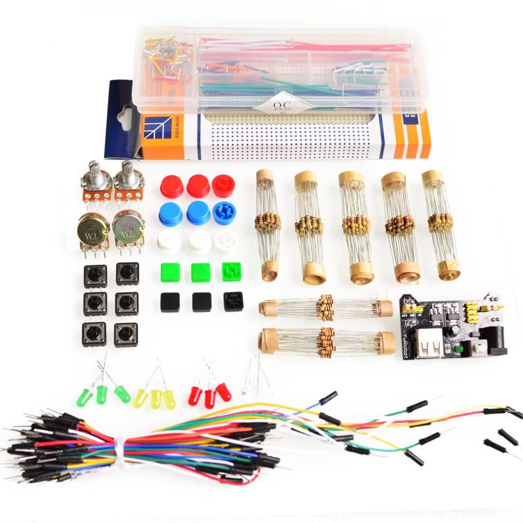 Generisches Teile Paket Für Arduino + 3,3 v/5 v power module + MB ...