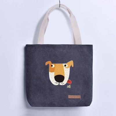21ccb8e864b6 Vente chaude sacs à main femmes sacs designer de bande dessinée motif dames  plage épaule sac fourre-tout en toile sac bolsa feminina cuir