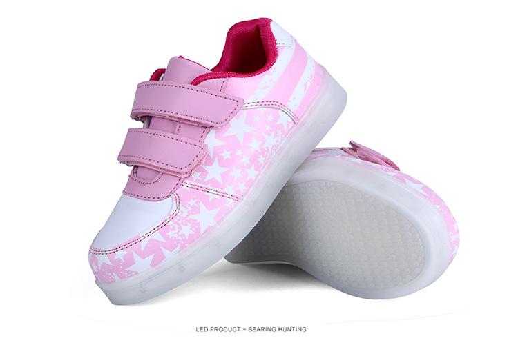 531645eaec JIANDIAN Crianças Levaram Sapatos Sapatos Cesta de Carregamento USB Com Luz  Up Kids Boys   Girls Sneakers Luminosos Casuais Sapato Brilhando EnfantUSD  ...