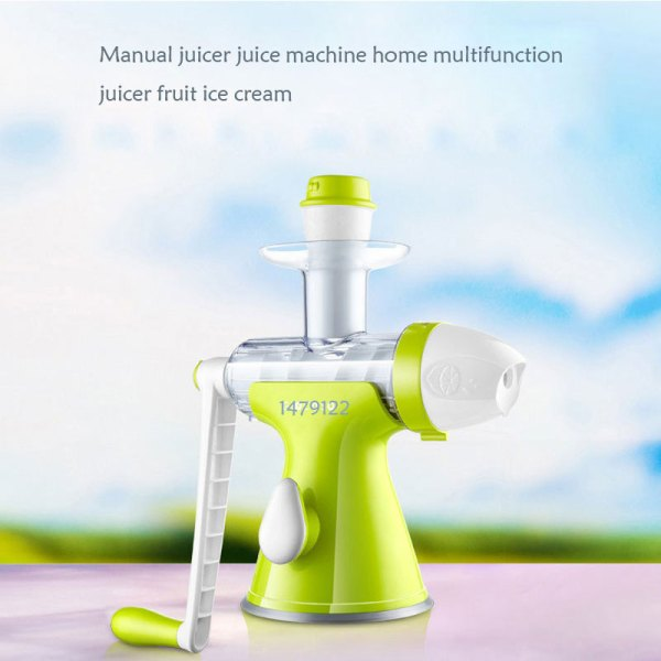Manual Ice Cream Machine - Online Shopping