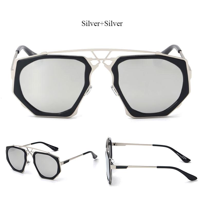 7bd9313e68d ⊹Victorylip Fashion Steampunk Hip Hop Sunglasses Women Luxury Brand ...