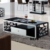 Cheap coffee table stylish simplicity glass coffee table ...