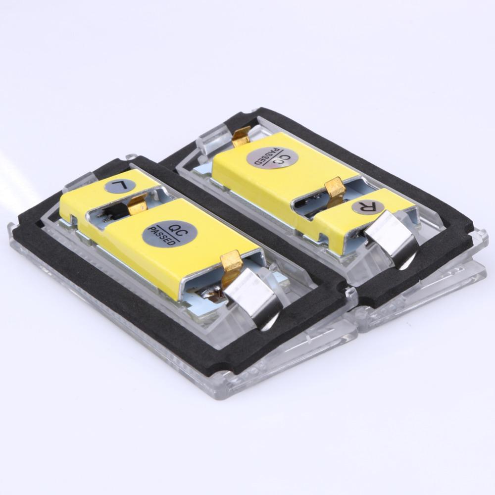 2 Stücke Weiß 18 LED Auto Licht Lampen 3528SMD Kennzeichenleuchte ... ebc957278e