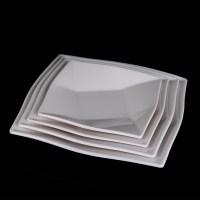 Popular Plastic Plates White Square-Buy Cheap Plastic ...