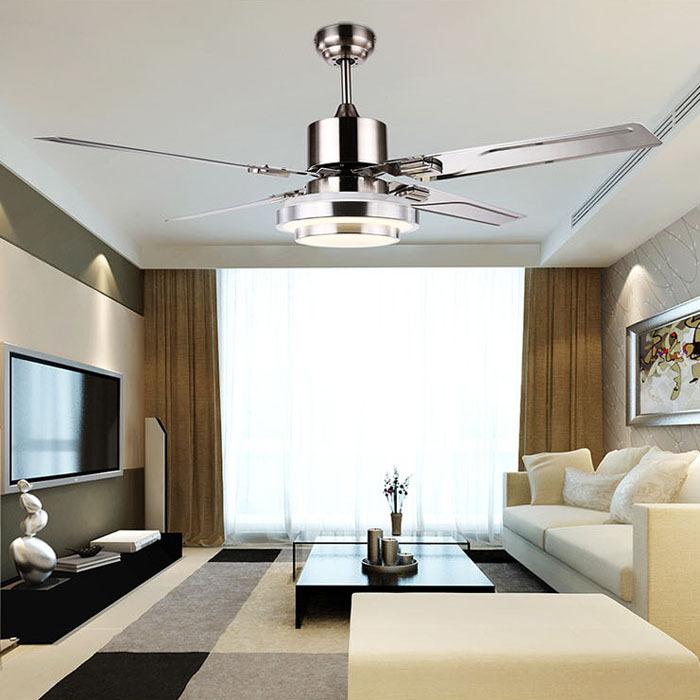 fashion ceiling fan lights retro style fan lamps bedroom