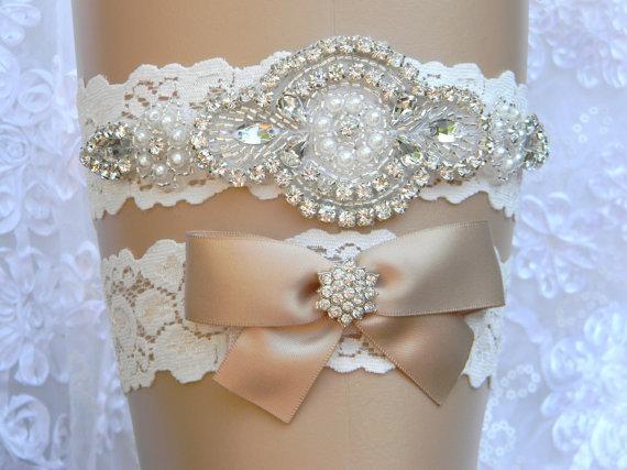 Aliexpress.com : Buy Wedding Garter Set Lace Flower Bridal