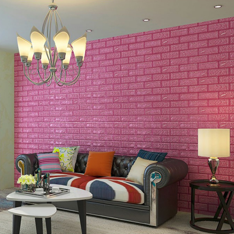⓪HOT PE Foam 3D Wall Stickers Wall Decoration Wall Brick Wall ...