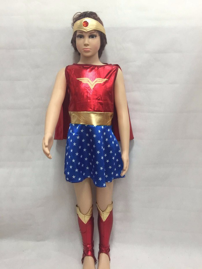 Usted tiene que asegurarse sobre que antes de sobornar un Niños Disfraces  de Halloween para niñas Mujer Maravilla traje vestido chica Anime ropa  Cosplay ... 79e09f3407f