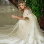 Simple Country Lace Wedding Dress