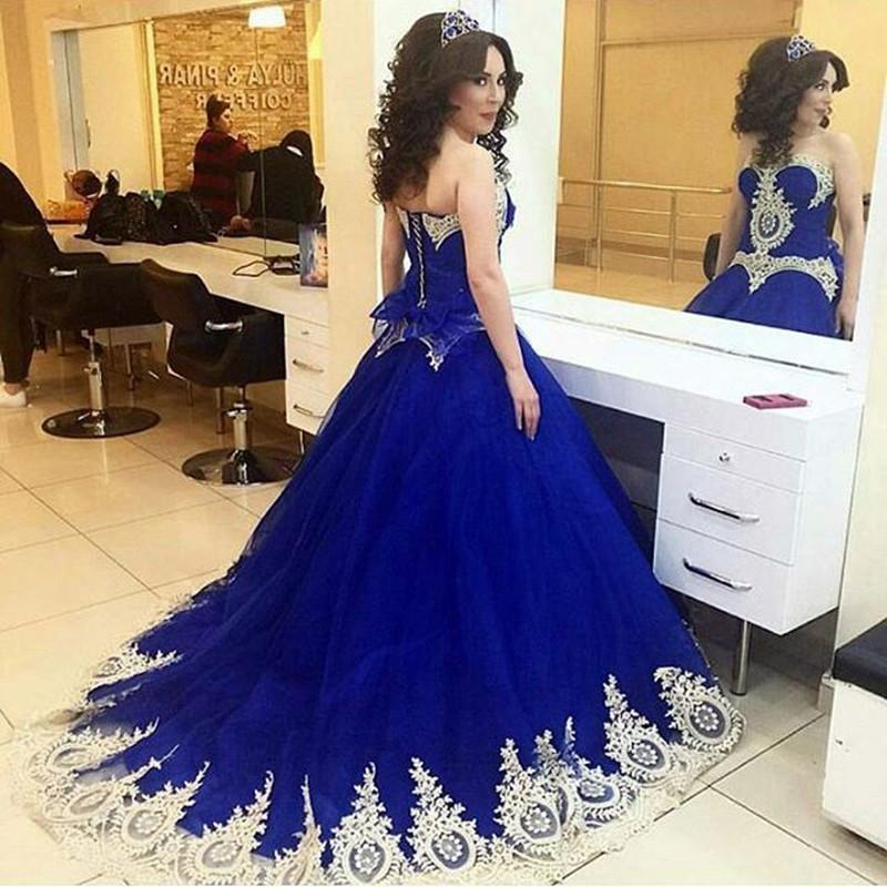 ̿̿̿(•̪ )Zyllgf nueva balón vestido de novia vestido de dama de honor ...