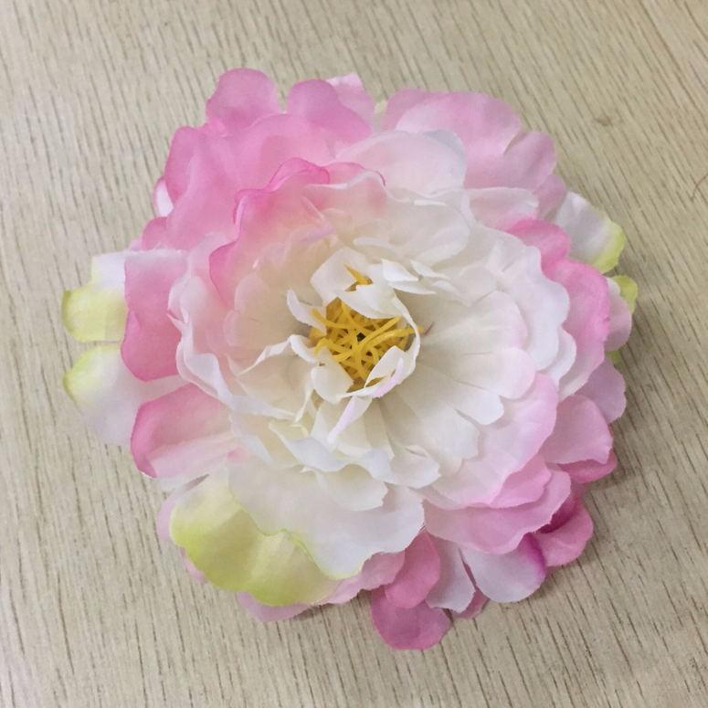 4pieces 11cm peony head artificial silk flowers heads for wedding 4pieces 11cm peony head artificial silk flowers heads for wedding diy straw hat decorative fake flower mightylinksfo