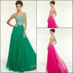 Simple Elegant Long Prom Dress